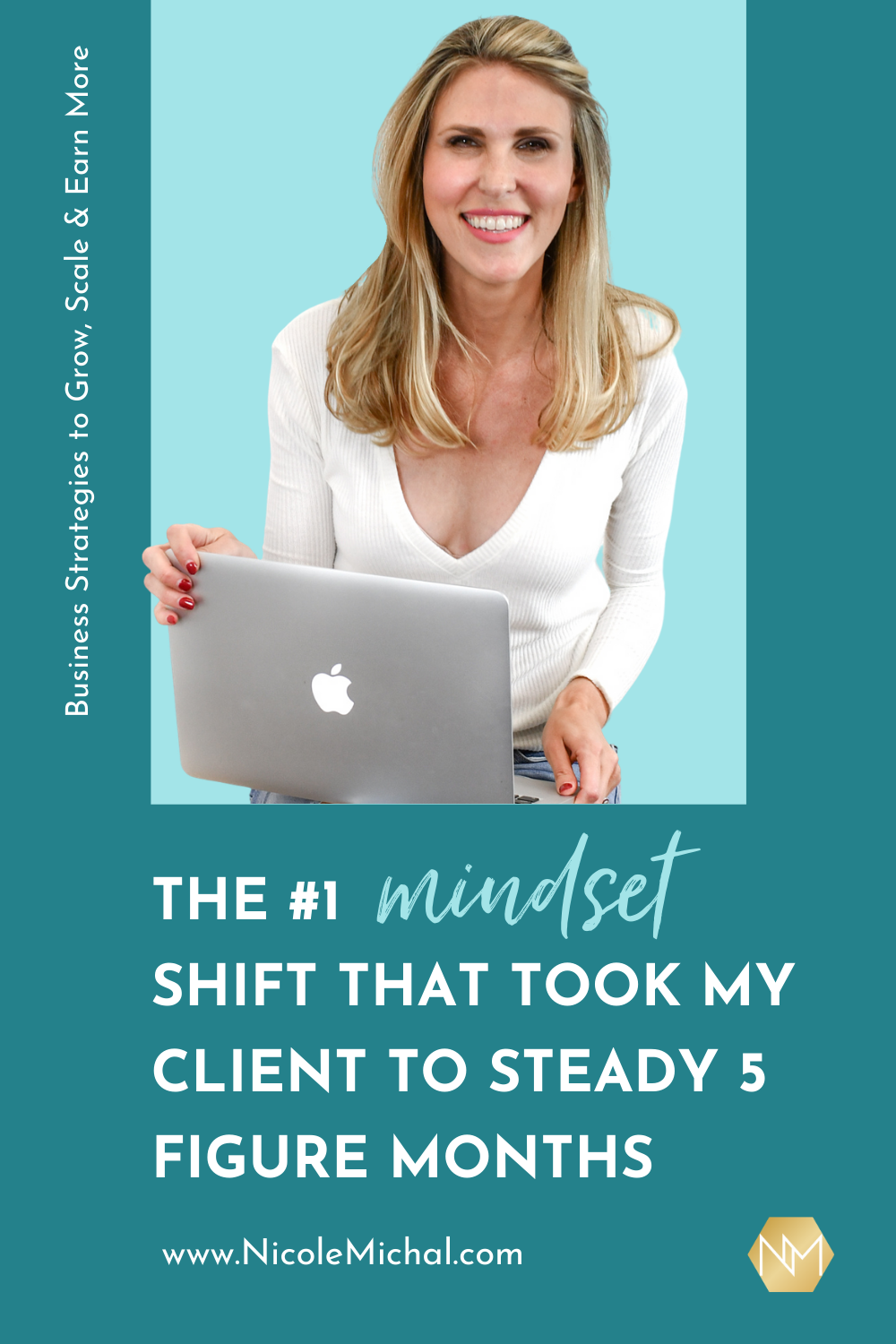 The #1 Mindset Shift that Took my Client to Steady 5 Figure Months